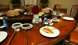 Chinese restaurant. Peking duck Stock Photos