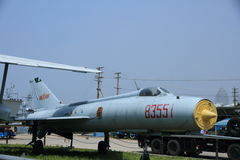 Chinese retired weapons plane Royalty Free Stock Photo