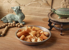 Chinese retro decorative dining Stock Photo