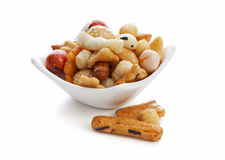 Chinese rice crackers Stock Images
