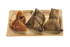 Chinese Rice Dumplings Royalty Free Stock Photos