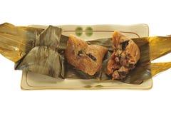 Chinese Rice Dumplings Royalty Free Stock Photo