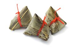 Chinese rice dumplings Royalty Free Stock Photo