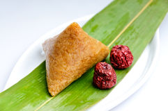 Chinese rice dumplings Royalty Free Stock Image