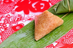 Chinese rice dumplings Stock Images