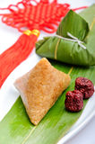 Chinese rice dumplings Royalty Free Stock Photos