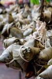 Chinese Rice Dumplings Stock Image
