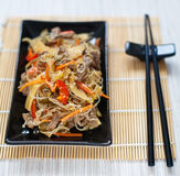 Chinese rice noodles Stock Photos
