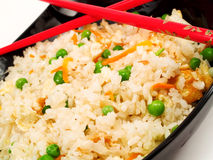 Chinese Rice With Vegetables Stock Images