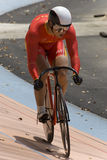 Chinese Rider at Asian Cycling Championships 2012 Royalty Free Stock Photo