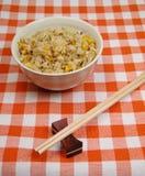 Chinese rijst op een lijst Royalty-vrije Stock Afbeeldingen