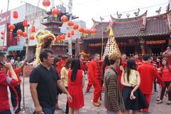 Chinese ritual ceremony Royalty Free Stock Images