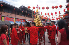 Chinese ritual ceremony Royalty Free Stock Image