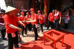Chinese ritual Royalty Free Stock Image