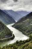 Chinese River Valley Stock Images