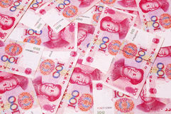 Chinese RMB currency background. Chinese RMB currency,100 yuan Royalty Free Stock Images