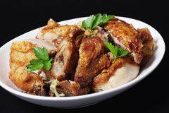 Chinese Roast Chicken Royalty Free Stock Photography