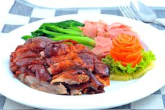Free Chinese Roast Duck Royalty Free Stock Photography - 15128867