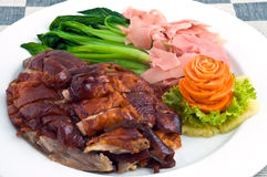 Chinese roast duck Royalty Free Stock Images