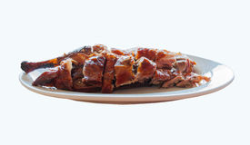 Chinese roast duck(with clipping path) Royalty Free Stock Image