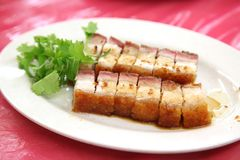 Chinese roast pork Royalty Free Stock Photos