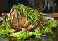 Chinese roasted lamb Royalty Free Stock Image