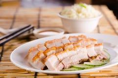 Chinese roasted pork Stock Image