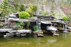 Chinese rockery garden Royalty Free Stock Photos