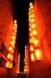 Chinese rode lantaarn royalty-vrije stock afbeeldingen