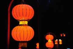 Chinese rode lantaarn stock foto's