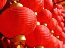 Chinese rode lantaarn Royalty-vrije Stock Foto