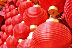 Chinese rode lantaarn Stock Fotografie