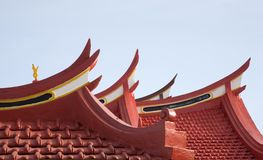 Chinese roof 1 Stock Photos