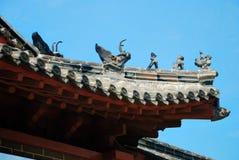 Chinese Roof Stock Photo