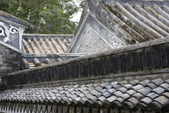 Chinese roof. Stock Photos