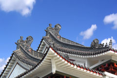 Chinese Roof. Detail royalty free stock image