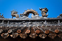 Chinese roof Royalty Free Stock Photos