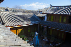 Chinese roof Stock Photography