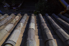Chinese roof Royalty Free Stock Photo
