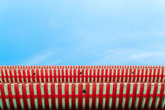 Chinese roof with blue sky Royalty Free Stock Photography