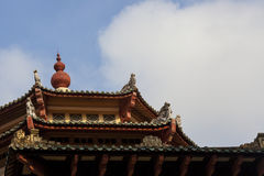 Chinese roof Royalty Free Stock Image