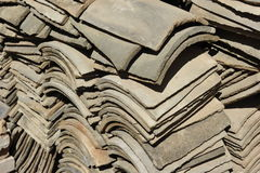 Chinese Roof Tiles Stock Image