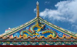 Chinese roof Stock Photos