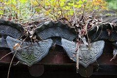 Chinese Roofing Tile Stock Images
