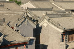 Chinese rooves Stock Image