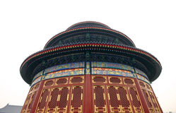 Chinese round building. A round old Chinese style building in Beijing, China Royalty Free Stock Photos