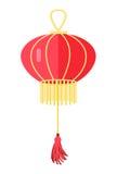 Chinese Round Red Lamp Ball. Oriental Lantern Royalty Free Stock Photos