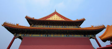 Chinese royal palace Royalty Free Stock Photo