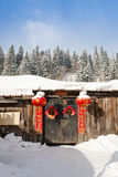 Chinese rural house Royalty Free Stock Photos