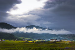 Chinese rural scenery  Royalty Free Stock Photography
